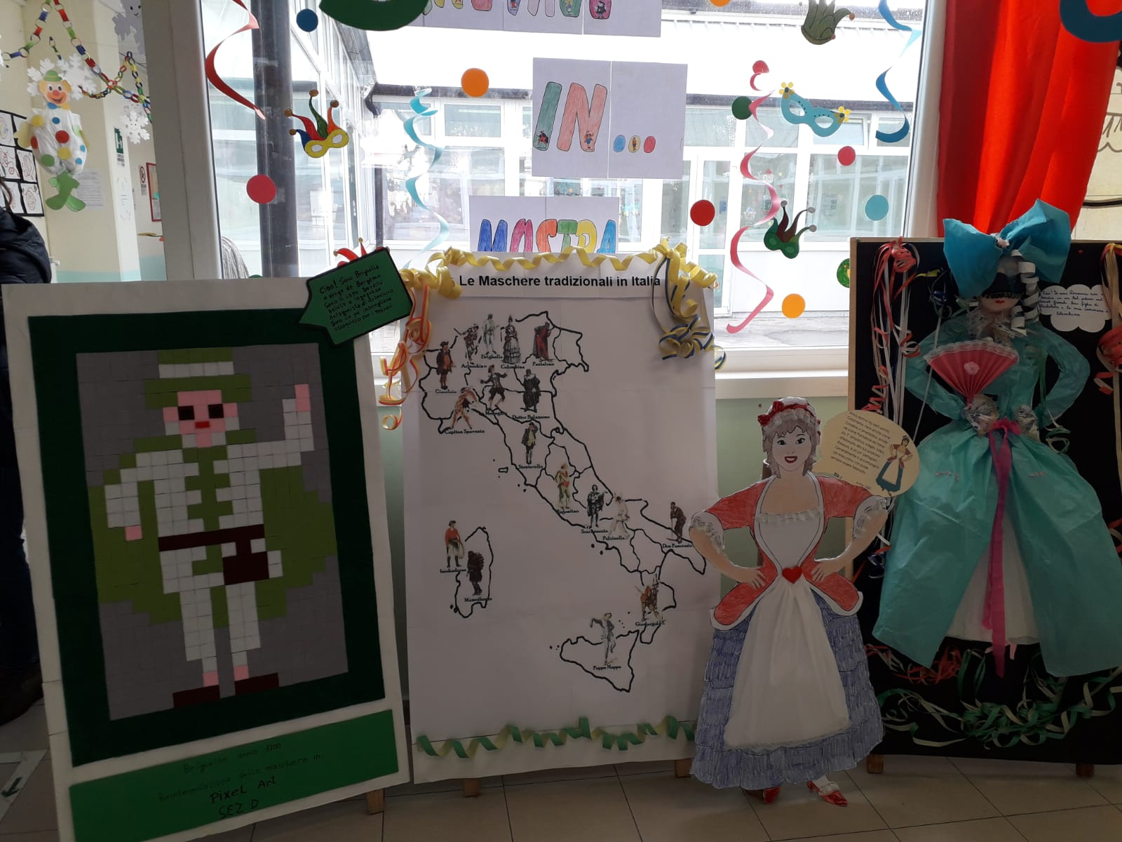 Carnevale 2019: i lavori della Scuola dell'Infanzia